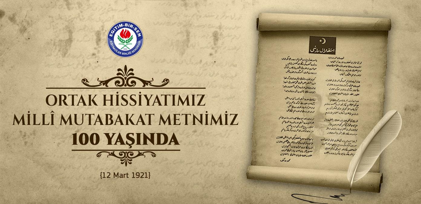 İstiklal Marşımız, ortak hissiyatımız, millî mutabakat metnimiz 100 yaşında